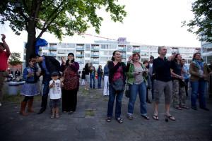 Sloop-Nieuwbouwfeest Mariakwartier Mitros. Fotograaf Sebastiaan ter Burg